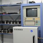 Schenck Turboladerwuchtmaschine