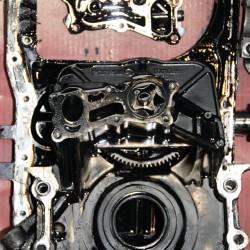 Motor Generalüberholung zerlegt 2