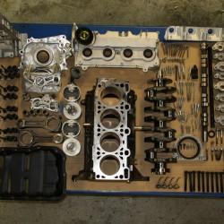 Motor Generalüberholung Zusammenbau 2