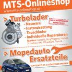 Mopedautoersatzteile und Turbolader im Onlineshop